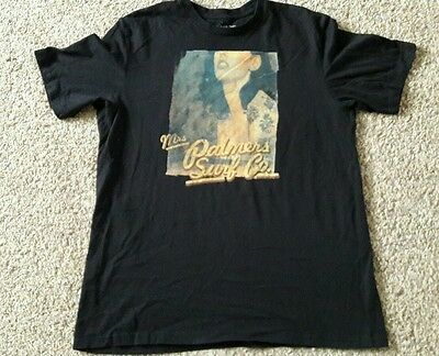 """Men's Black  T-Shirt, Palmers, 44"""" Chest, Great Condition!"""