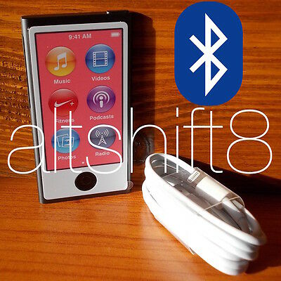  Apple Ipod Nano 7G 16Gb Space Grey Grigio Siderale 7Th Gen 7 Nuovo & Garanzia❗