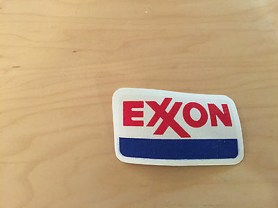 Exxon Patch, Iron On, New Old Stock, 80's, Set Of 4