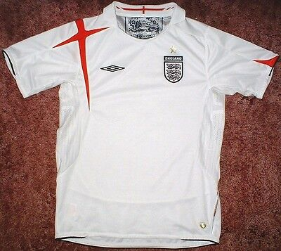 England - National Home Football/Soccer Shirt/Jersey - Age 9/10yrs