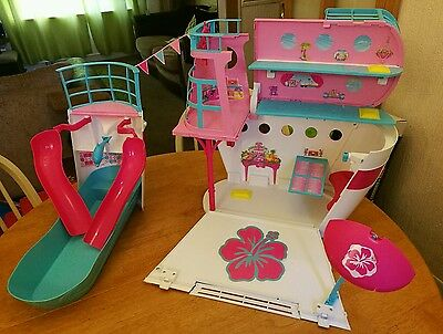 Huge Barbie Cruise Ship Playset