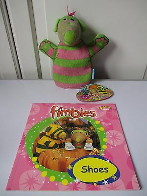 FIMBLES Shoes Book Paperback NEW Baby Pom Wash Bath Mitt NEW WITH TAG