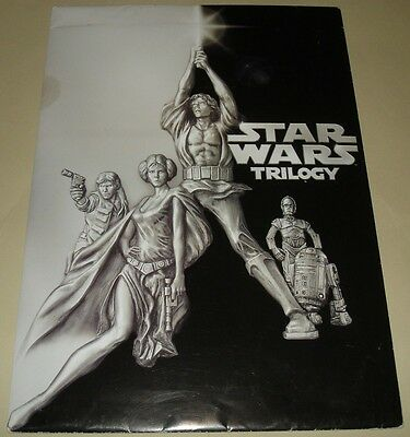 Star Wars Original Trilogy DVD Release Very Rare Retail Store Press Kit Brochure