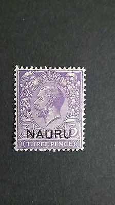 1924 -26 British King George V 3d stamp with NIUE overprint
