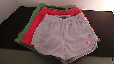 Lot of 3 Girl's SHORTS - Sweatshorts - Hanna Andersson - US 6-8 - FREE SHIPPING