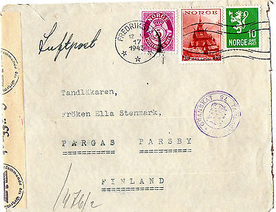 Interesting Item From The German Occupation Of Norway