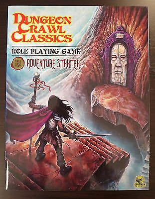 NEW Dungeon Crawl Classics Adventure Starter - Goodman Games DCC