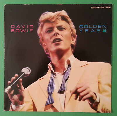 DAVID BOWIE - Golden years - LP ITA 1983 MINT