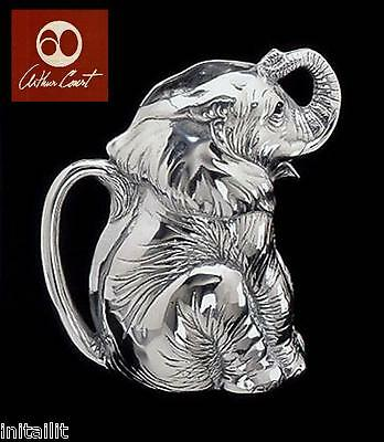 New In Box Authentic Arthur Court Elephant Pitcher Safari Free Shipping