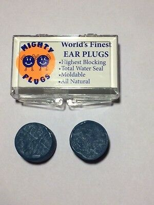 The world's finest natural earplugs x1 pair - best ear plugs available!
