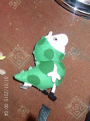 George Pig from Peppa dressed as dinosaur with 4 different sounds