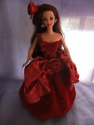 collectors radiant rose barbie doll clothes dress fashion gown outfit