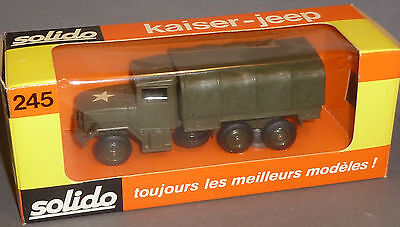 Alter Solido LKW Kaiser Jeep in OVP 245 MiB !