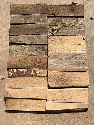 Oak Barn Reclaimed Rustic Lumber Wooden Crafts salvage Weathered Boards 12