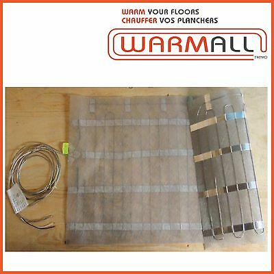 "Warm All Electric Floor Heating Mat 24"" Wide - 120 Volts"