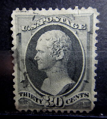 US 1870-82 30c Stamp - Used -  r47e671