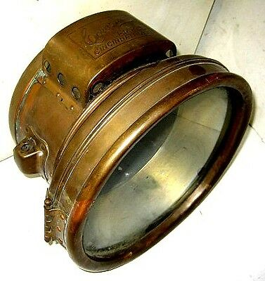 Corcoran Brass Carbide Headlamp Believed To Be Off An Early Buick