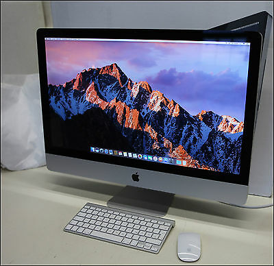 "Apple iMac 27 "" 3.4 GHz I7 2GB Grafik 16 GB-Ram 1TB HDD"