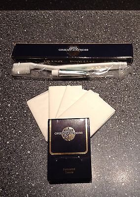 Venice Simplon Orient Express toothbrush & Tissues  - Brand New In Box