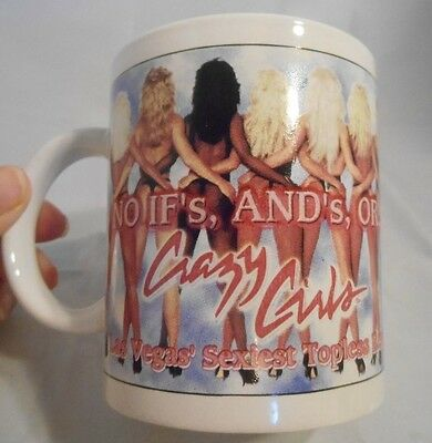 Riviera Hotel & Casino Las Vegas Coffee Mug Cup No Ifs, And's, ...Or Crazy Girls