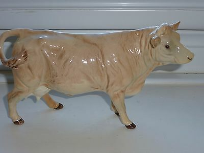 Beswick  Charolais Cow In Mint Condition  Model 3075A  Boxed