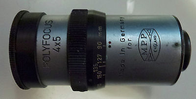 TEWE POLYFOCUS 90-270 mm varifocal zoom optical finder for MPP 5x4