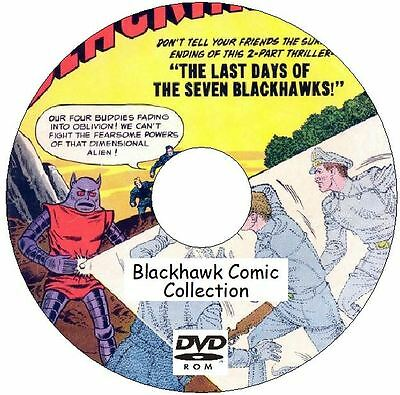 Blackhawk Comic Collection 263 Issues on DVD