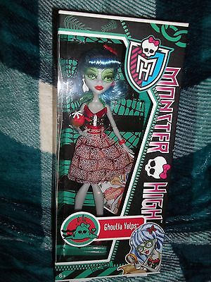 Monster High Doll Skull Shores GHOULIA YELPS, New, BNIB