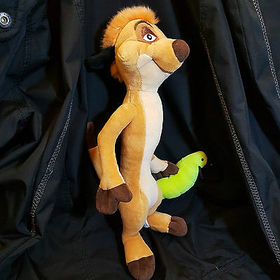 Disney Timon 14 inch  Great Condition*****Stuff Animal*WOW*
