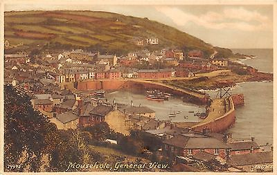 POSTCARD  CORNWALL   MOUSEHOLE   General  View