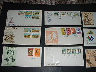 Lesotho 15 Nice Covers   Combined Postage Get What You See