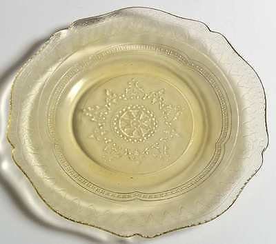 Federal Glass Company PATRICIAN AMBER Bread & Butter Plate 124570