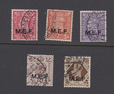Stamps MEF Middle East Forces used selection