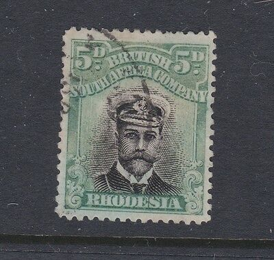 Stamp Rhodesia, British South Africa Company used 5d