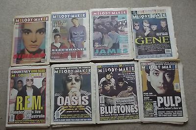Melody Maker Lot Of  31 1990/5 Rem Oasis Green Day Radiohead Foo Fighters Pulp.