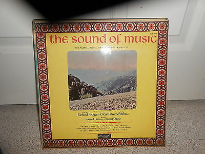 Richard Rodgers, The Parris Mitchell Strings – The Sound Of Music (VG+ COND)