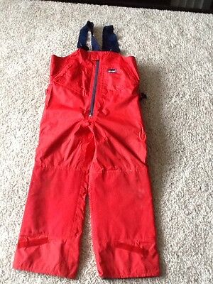 musto sailing trousers and free jacket Size XL