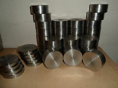Stainless Steel Plates Round   Various Sizes / Lengths New Sizes Added  Cheap