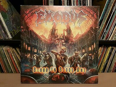 EXODUS Blood In Blood Out **2014 UK Press STILL SEALED**