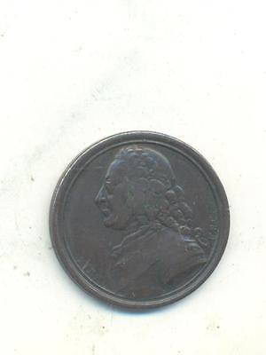 VERY RARE.SENTIMENTAL MAGAZINE TOKEN / MEDALET by KIRK GEORGE THE SECOND.I.22
