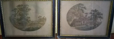 PAIR OF BARTOLOZZI PRINTS, 'The Corn Field' and 'The Cottage,