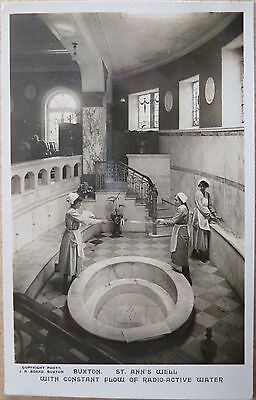 RP Postcard of St Ann's Well, Buxton, Derbyshire.