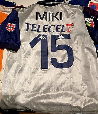 Miklós Fehér FCPorto Match Worn Player Issue 99/00 Trikot Maglia Maillot Hungary