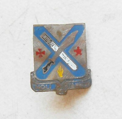 Original Vietnam War Period Beercan Insignia For the 2nd Infantry Regiment