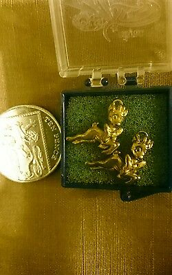 Pair of Babycham Charms