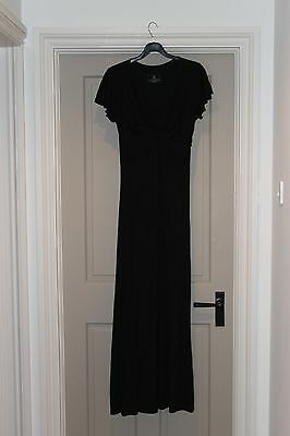 Babes with Babies long black nursing/maternity dress, size small