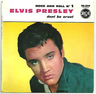 Elvis Presley - Set of French Rock n roll Nos (1 2 3 4 and 5) PS EPs.