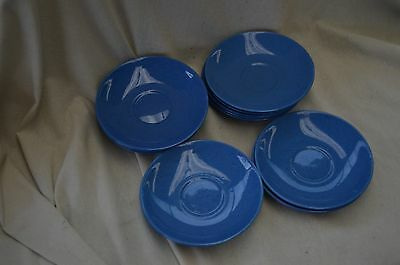 Vintage Saucer Plates Adderleys Made In England 12 Cobalt Blue Ex Cond Sale