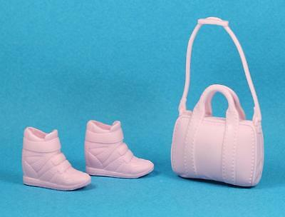 Barbie Pink Tennis Shoes Purse fits 2017 Fashionistas Regular PETITE Doll