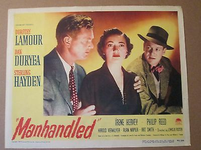 Manhandled     -1949   Original  Lobby Card - Dorothy Lamour